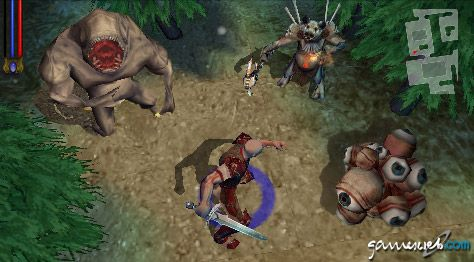 Untold Legends: Brotherhood of the Blade (PSP)  Archiv - Screenshots - Bild 5