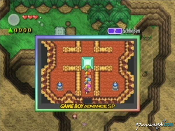 Legend of Zelda: Four Swords Adventures  Archiv - Screenshots - Bild 8