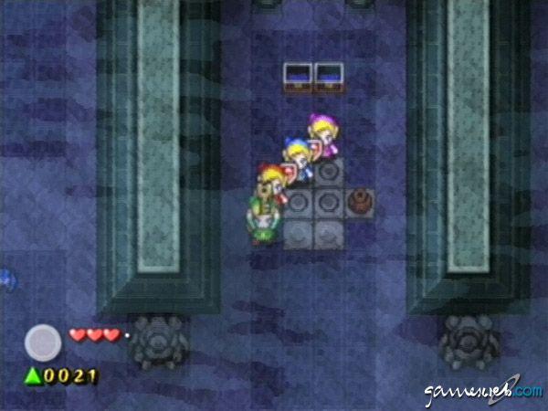 Legend of Zelda: Four Swords Adventures  Archiv - Screenshots - Bild 12