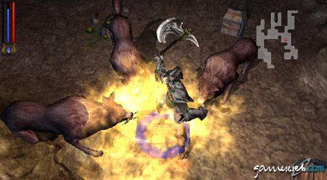 Untold Legends: Brotherhood of the Blade (PSP)  Archiv - Screenshots - Bild 10