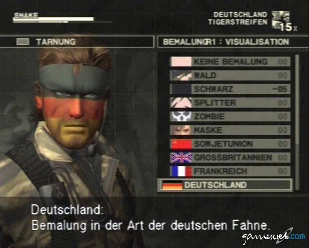 Metal Gear Solid 3: Snake Eater  Archiv - Screenshots - Bild 16