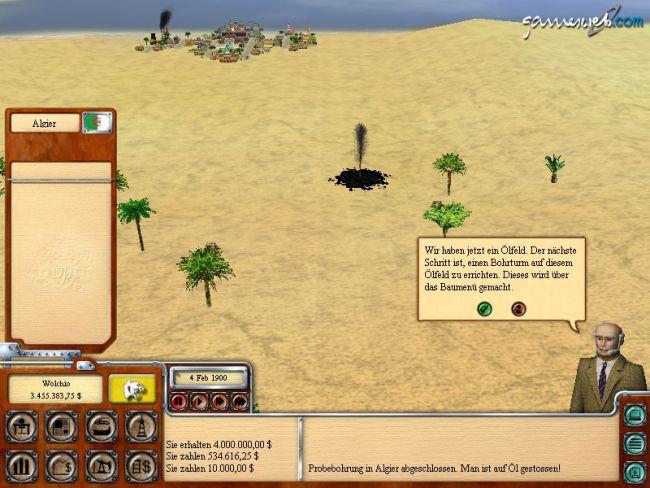 Oil Tycoon 2  Archiv - Screenshots - Bild 2