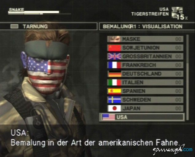 Metal Gear Solid 3: Snake Eater  Archiv - Screenshots - Bild 24