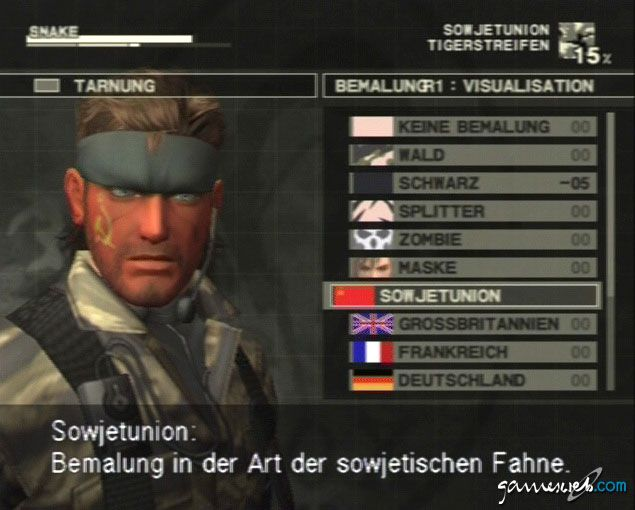 Metal Gear Solid 3: Snake Eater  Archiv - Screenshots - Bild 20