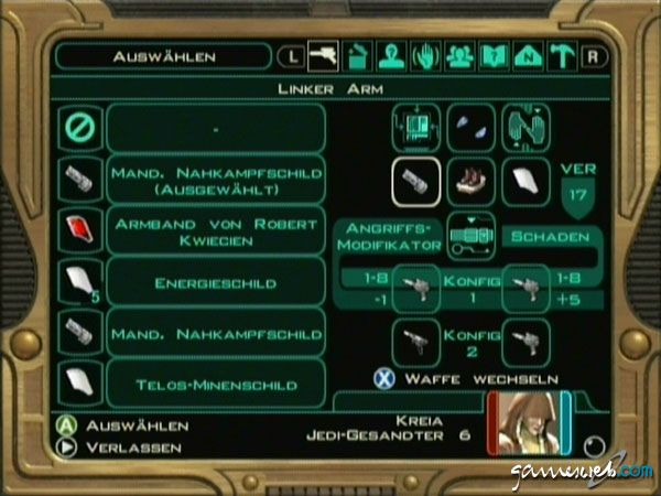 Star Wars: Knights of the Old Republic 2: The Sith Lords  Archiv - Screenshots - Bild 3