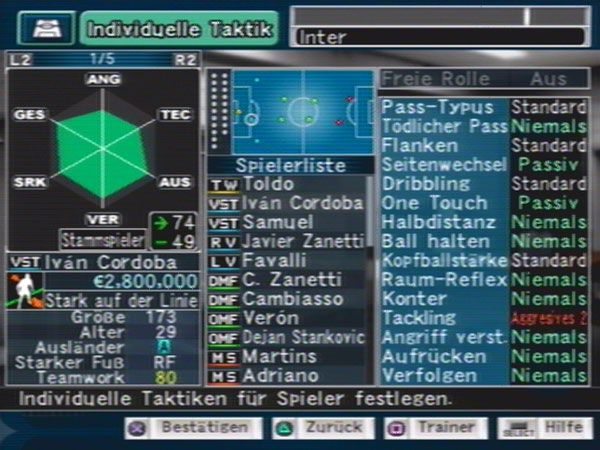 Pro Evolution Soccer Management  Archiv - Screenshots - Bild 10