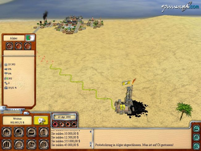 Oil Tycoon 2  Archiv - Screenshots - Bild 3