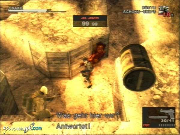 Metal Gear Solid 3: Snake Eater  Archiv - Screenshots - Bild 13
