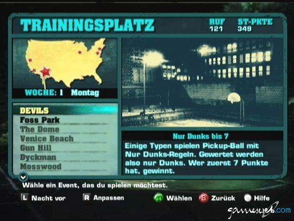 NBA Street V3  Archiv - Screenshots - Bild 2