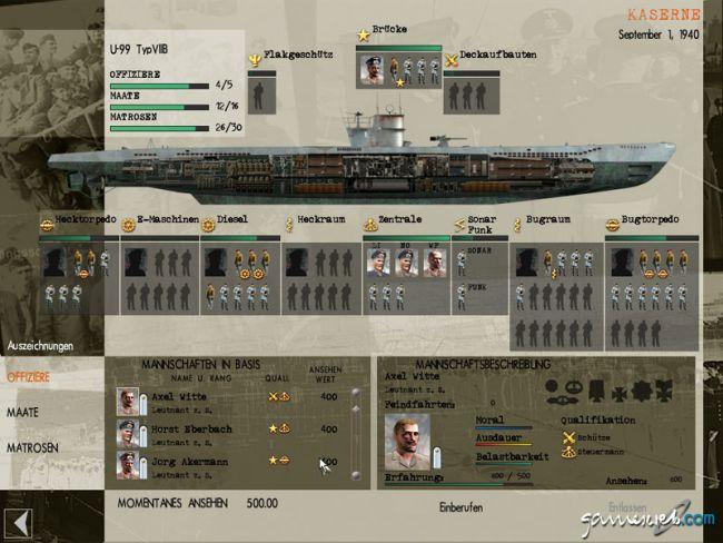 Silent Hunter 3  Archiv - Screenshots - Bild 7
