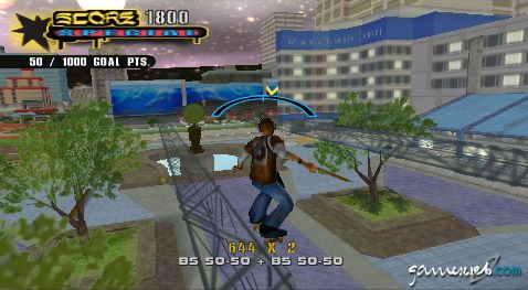 Tony Hawk's Underground 2: Remix (PSP)  Archiv - Screenshots - Bild 2
