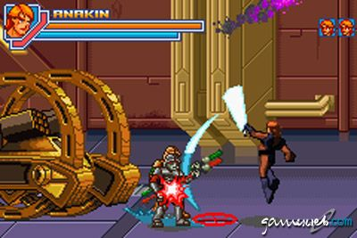 Star Wars Episode 3: Revenge of the Sith (GBA)  Archiv - Screenshots - Bild 8
