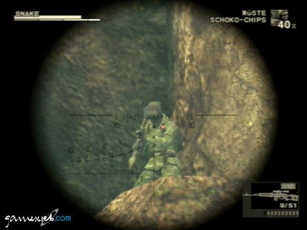 Metal Gear Solid 3: Snake Eater  Archiv - Screenshots - Bild 14