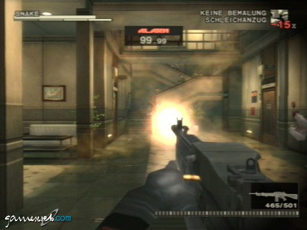 Metal Gear Solid 3: Snake Eater  Archiv - Screenshots - Bild 11