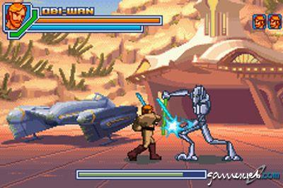 Star Wars Episode 3: Revenge of the Sith (GBA)  Archiv - Screenshots - Bild 4