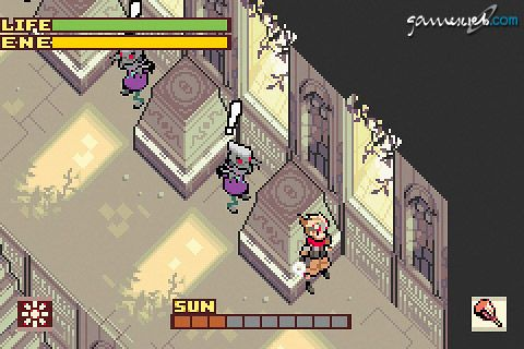 Boktai 2: Solar Boy Django (GBA)  Archiv - Screenshots - Bild 3