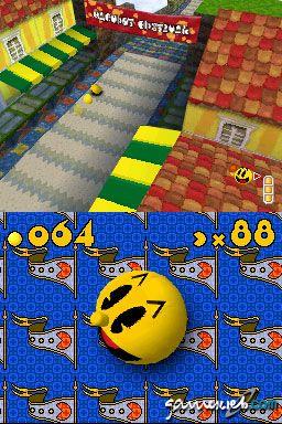 Pac 'n Roll (DS)  Archiv - Screenshots - Bild 2