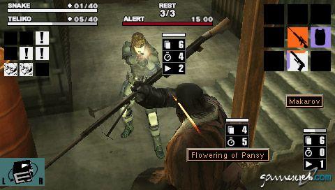 Metal Gear Acid (PSP)  Archiv - Screenshots - Bild 21