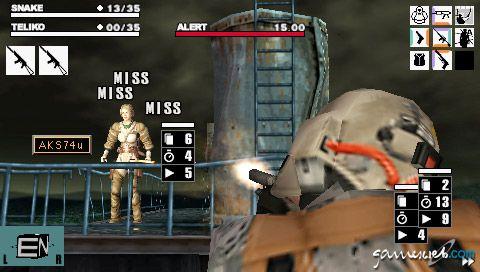 Metal Gear Acid (PSP)  Archiv - Screenshots - Bild 29