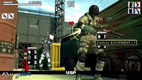 Metal Gear Acid 2 (PSP)  Archiv - Screenshots - Bild 34