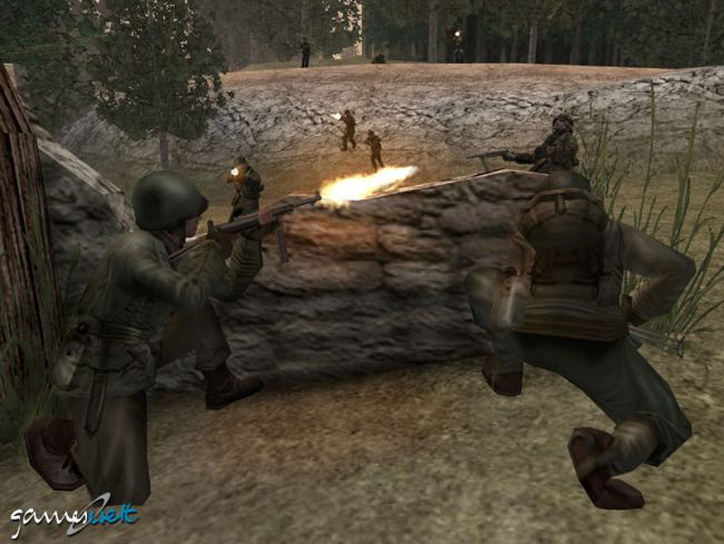 Call of Duty 2: Big Red One  Archiv - Screenshots - Bild 23