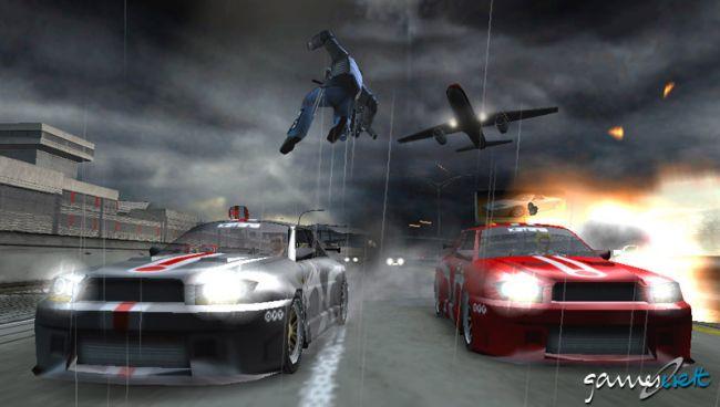 Pursuit Force (PSP)  Archiv - Screenshots - Bild 11