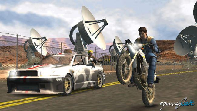 Pursuit Force (PSP)  Archiv - Screenshots - Bild 9