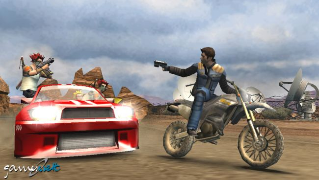 Pursuit Force (PSP)  Archiv - Screenshots - Bild 8