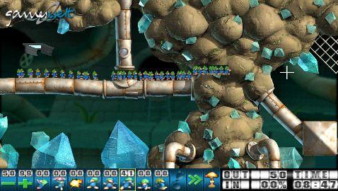 Lemmings (PSP)  Archiv - Screenshots - Bild 26
