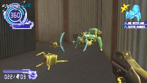 Ghost in the Shell: Stand Alone Complex (PSP)  Archiv - Screenshots - Bild 22