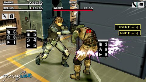 Metal Gear Acid 2 (PSP)  Archiv - Screenshots - Bild 19