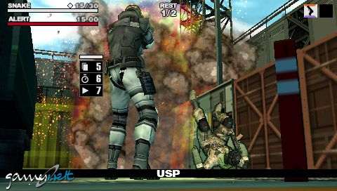 Metal Gear Acid 2 (PSP)  Archiv - Screenshots - Bild 16