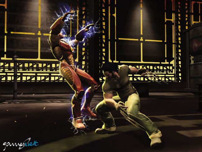 Marvel Nemesis: Rise of the Imperfects  Archiv - Screenshots - Bild 7