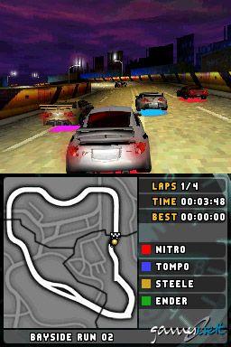 Need for Speed: Underground 2 (DS)  Archiv - Screenshots - Bild 2