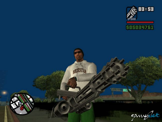 Grand Theft Auto: San Andreas  Archiv - Screenshots - Bild 11
