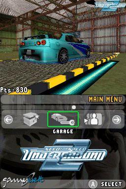 Need for Speed: Underground 2 (DS)  Archiv - Screenshots - Bild 3