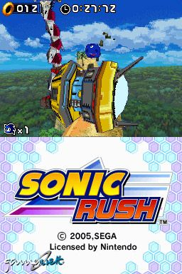 Sonic Rush (DS)  Archiv - Screenshots - Bild 30