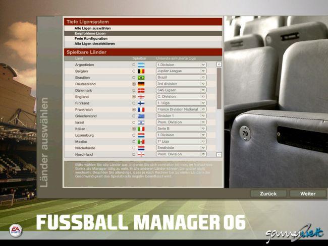 Fussball Manager 06  Archiv - Screenshots - Bild 22