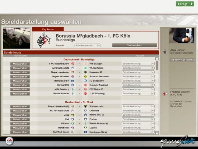 Fussball Manager 06  Archiv - Screenshots - Bild 18