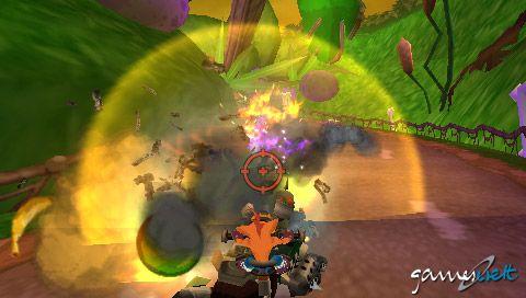 Crash Tag Team Racing (PSP)  Archiv - Screenshots - Bild 3