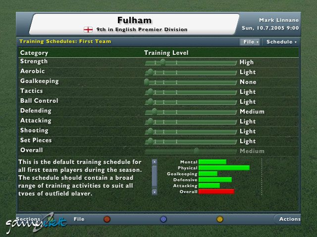 Football Manager 2006  Archiv - Screenshots - Bild 6
