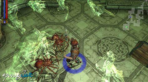 Untold Legends: Brotherhood of the Blade (PSP)  Archiv - Screenshots - Bild 3