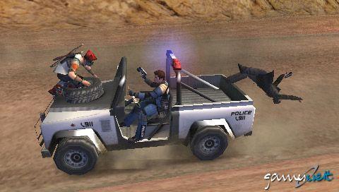 Pursuit Force (PSP)  Archiv - Screenshots - Bild 4