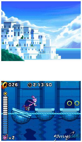 Sonic Rush (DS)  Archiv - Screenshots - Bild 26