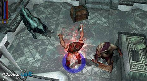 Untold Legends: Brotherhood of the Blade (PSP)  Archiv - Screenshots - Bild 4