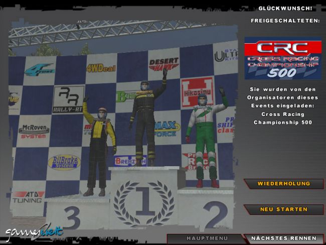 Cross Racing Championship 2005  Archiv - Screenshots - Bild 5