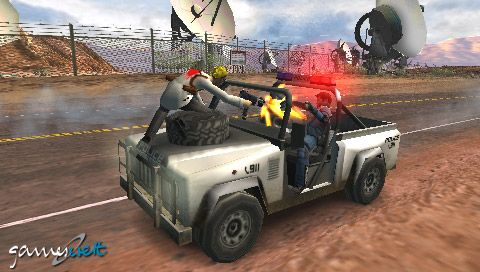 Pursuit Force (PSP)  Archiv - Screenshots - Bild 2