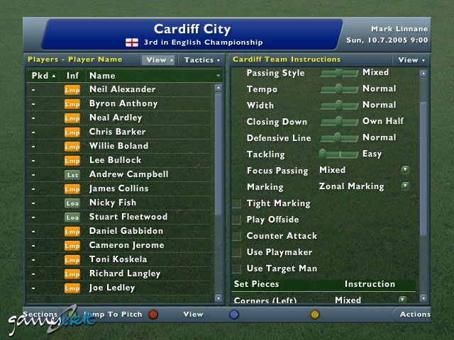 Football Manager 2006  Archiv - Screenshots - Bild 5