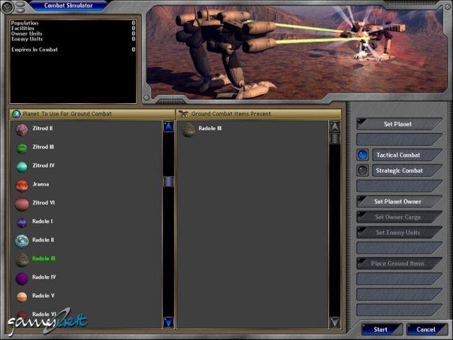 Space Empires 5  Archiv - Screenshots - Bild 44
