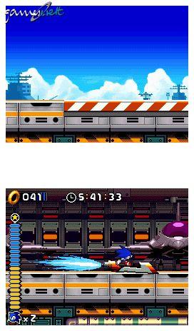 Sonic Rush (DS)  Archiv - Screenshots - Bild 8